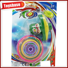 Wind up spinning top toy