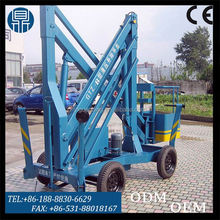 Outdoor aerial work platform articulated boom lift / truck mounted boom lift