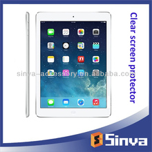 Premium clear screen guard for ipad air ipad mini 2 for 7.9inch 9.7inch touch lcd screen with best price