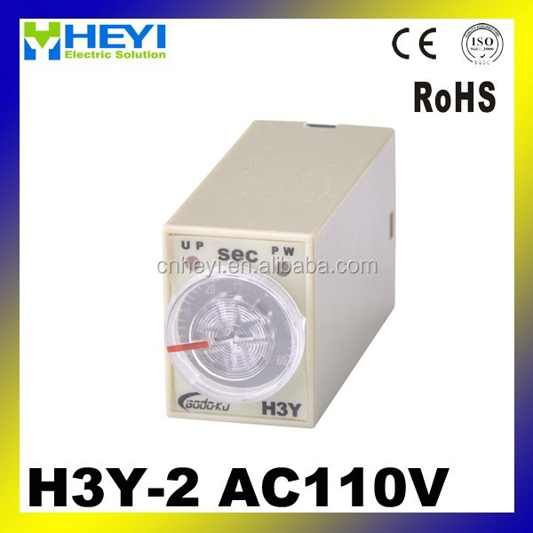H3Y-2 time relay mini relay 110 volt