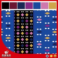 printed knitting suede fabric cheap Sales promotion for garments and home