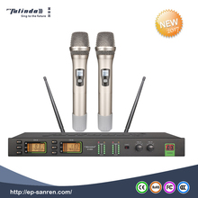 Enping Karaoke wireless handheld headset and gooseneck mic professional UHF wireless microphone