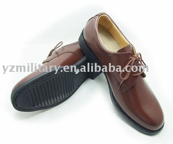 Leather upper Brown Office style man Shoes