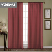 cheap plain fabric fashionable window curtains for bedroom