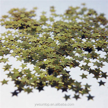 Gold Star Confetti Wedding Party Decorations