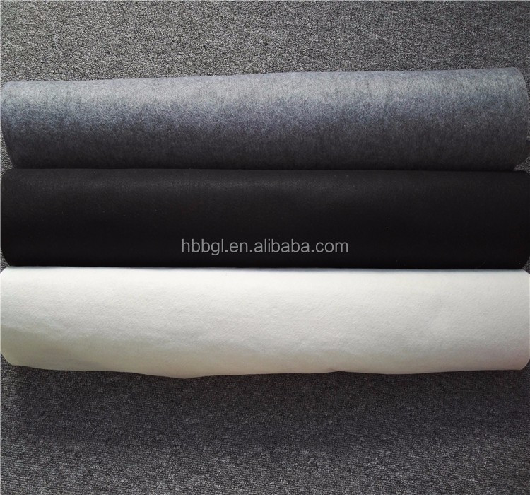 The factory price black color Non Woven Felt for car/Home Textile/Industry