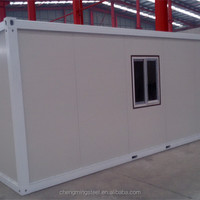 customized design solid raintight container toilet room