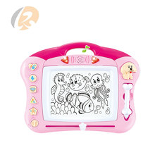 new multi function children writing learning set magnetic drawing board for kids with music