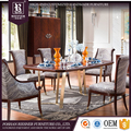 Customize American Post Modern Dining Room Furniture , soild Wooden furniture Modern Dining room set