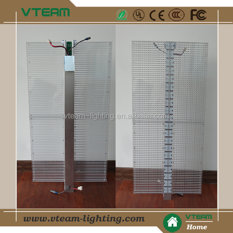 hot new led glass advertising screen/display products for 2013