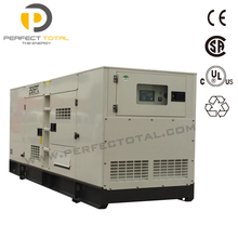diesel generator set with silent canopy 200kw powered by Cummins