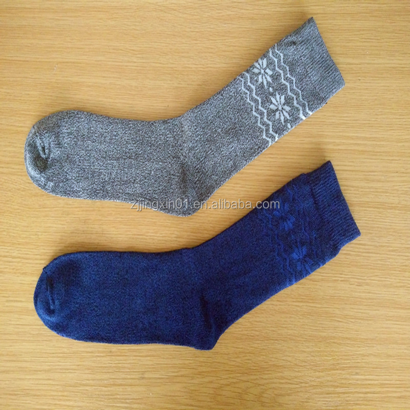 Custom mens bamboo fiber socks high quality winter man businesss sock