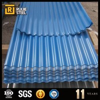 pre-painted corrugated metal roofing sheet