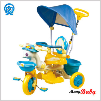 2015 Musical kids tricycle with canopy