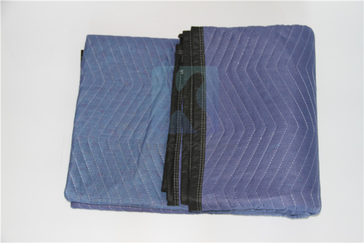 Alibaba hot sale quilted non-woven moving furniture protection blanket
