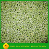 New season IQF Frozen green peas