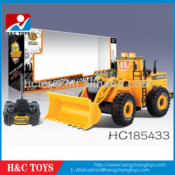 Promotional RC Construction toy trucks model,Digger r/c bulldozer truck,rc Engineering Truck HC185433