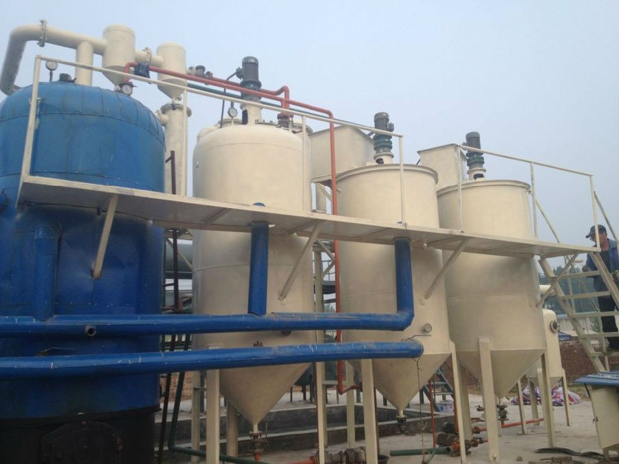 Highly Efficient 20T Engine Oil Recycling Device Waste Oil Refining Equipment