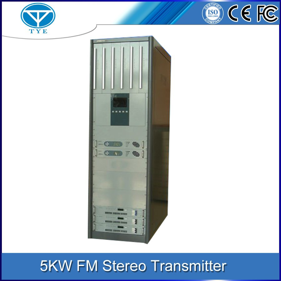 TY-105k 5kw high performance used fm broadcast transmitter equipment for sale