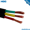 Stranded Conductor Type and Copper Conductor Material rubber insulated flexible cable