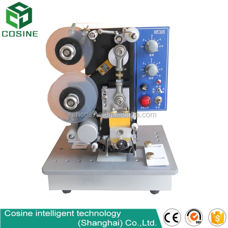 New electric date printing machine, ribbon coding machine, hot stamp coder