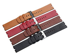 Smart watch band 22mm genuine leather watch strap