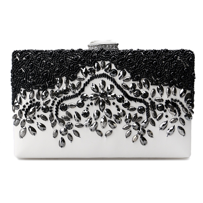 2016 Fancy Design evening clutch bags bead box party bag and purse