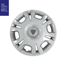 "High quality auto parts 14"" inch silver plastic car wheel cover hubcaps for sale"