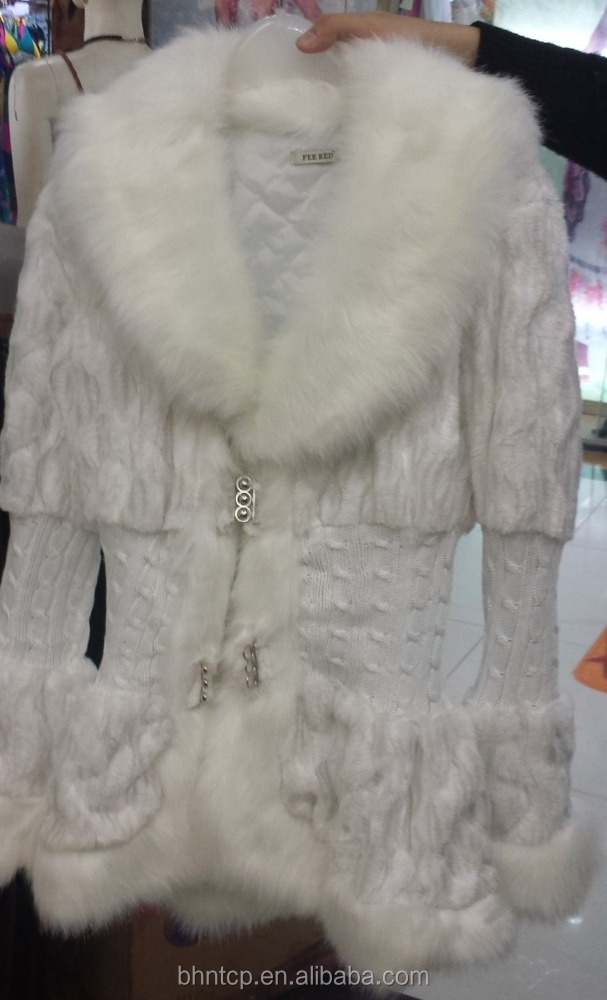BHNLCOT15091323 New winter product long winter with fur collar ladies women jacket.