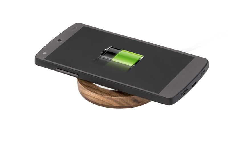 Terrific value original qi external backup battery wireless charger mobile power station for apple