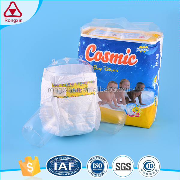 Low price disposable cotton leak guard custom size nice baby diaper