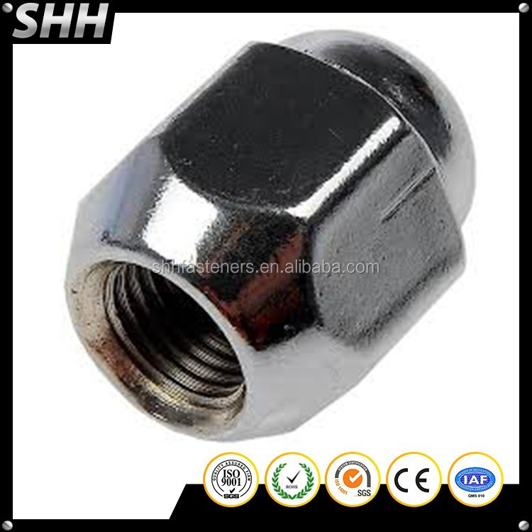 Factory Custom High Precision Chrome Wheel Nut Covers