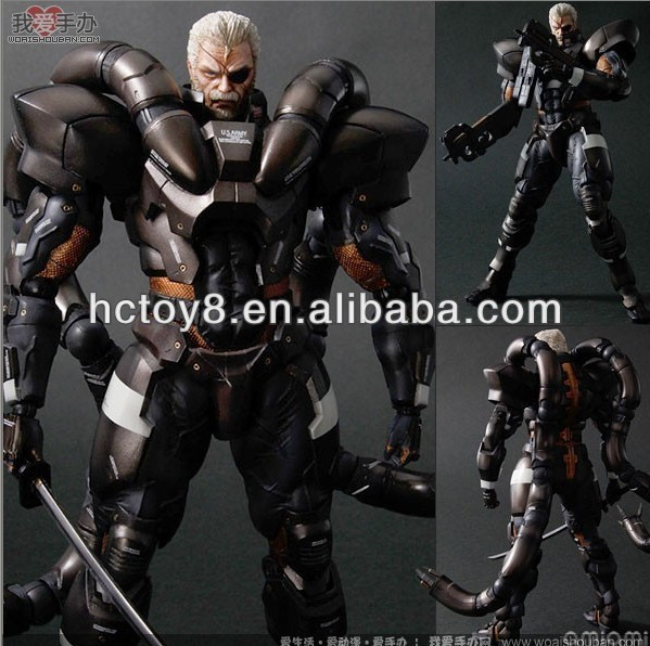 Gzltf Wholesale Video Game Metal Gear Solid 2 Character Of Solidus Snake Anime Figure Action figure