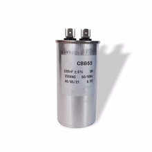 Factory popular wholesale cbb65 250v ac motor run capacitor 120uf