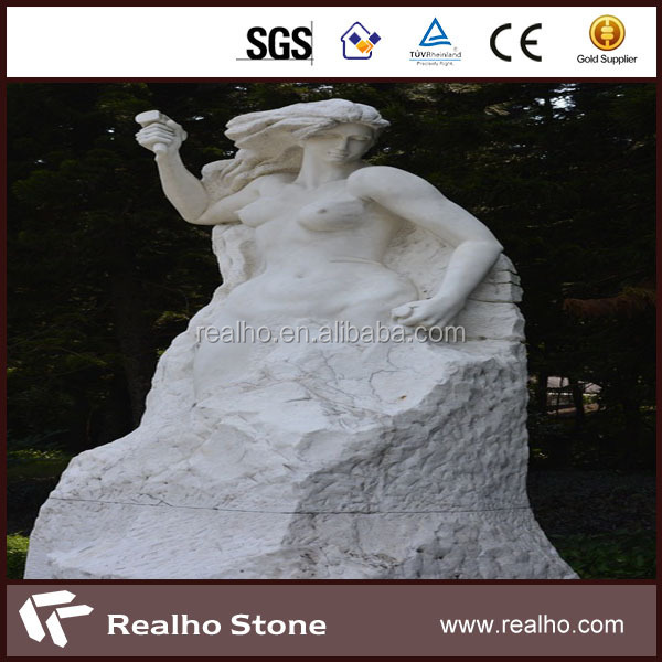 marble stone carving and sculpture woman outdoor statues