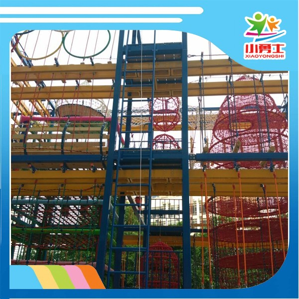Leader manufacturer safety playground outdoor obstacle course