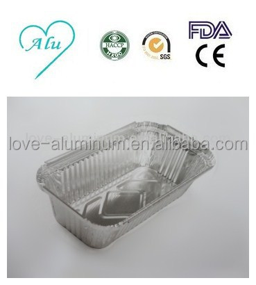 Rectangular Pollution-free Best-Selling Aluminum Foil Tray Disposable