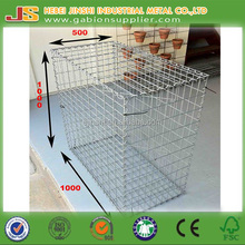 Above 200g/m2 hot galvanized home depot welded wire mesh gabions