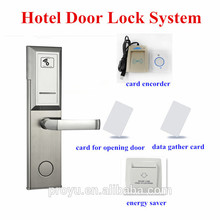 Quality assurred electric digital usb encoder rfid card hotel lock system with software free