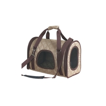 Customized portable airline approved dog pet carrier travel tote bag