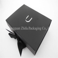 Luxury Black Folding Box Folding Paper