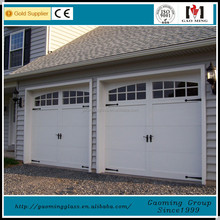 Lifting house use plastic glass aluminum garage door panels
