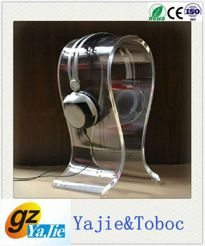 2013 excellent and qualified acrylic headphone stand