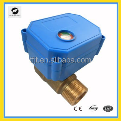 "2-way Female-Male motor control electric valve ,1/2"" ,24VDC /VAC"