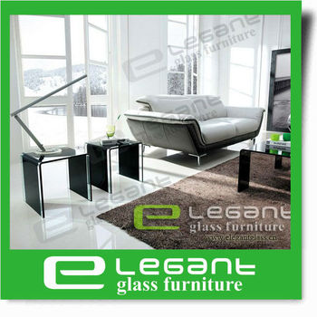 2013 Living Room Modern Glass Table,Nesting Glass Table- CB180