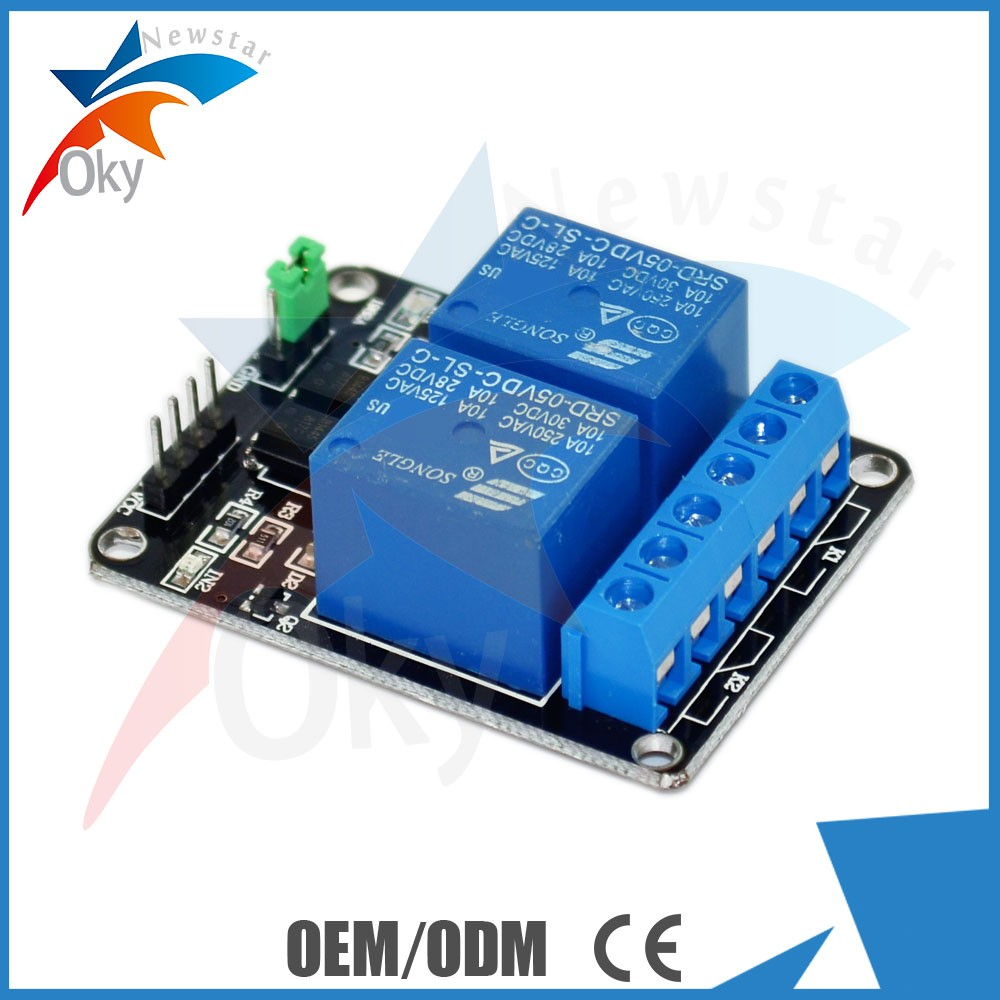 2 Channel Relay 12V Expansion Board Electric Relay Module