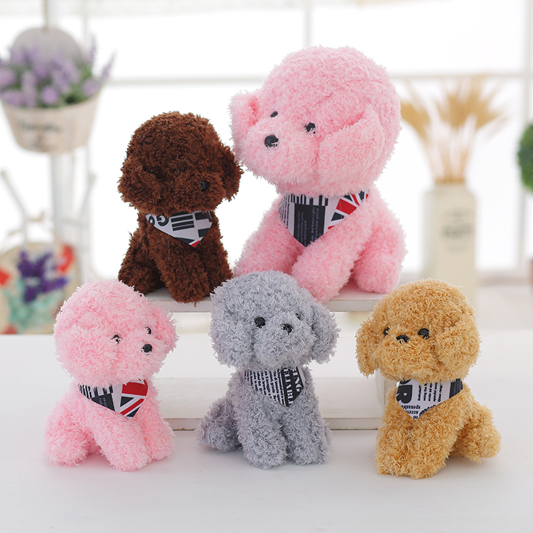 Promotional high quality kawaii stuffed soft plush custom toys small for kids plaything with stock