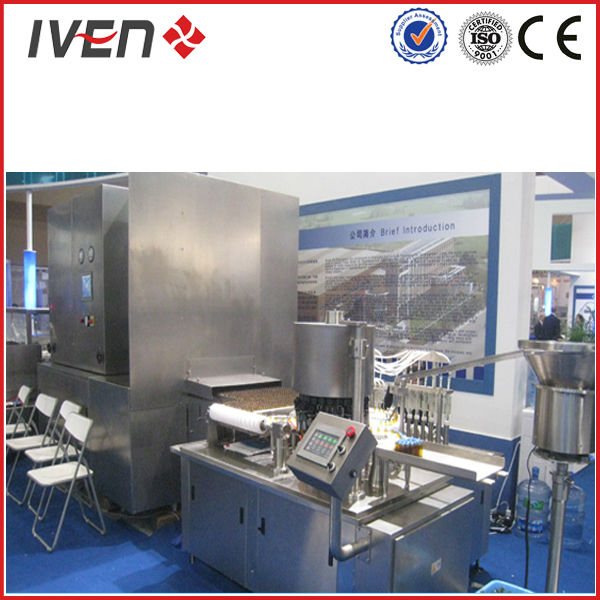 small doses syrup liquid filling production machine