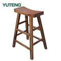 Chinese supplier industrial wooden counter high bar stool
