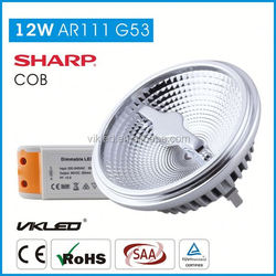 Available 12w/15w 12v led ar111 g53 For Home Decorative